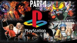 TOP PS1 GAMES (PART 1 of 9) OVER 150 GAMES!!
