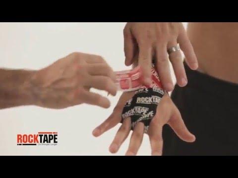 RockTape - Тейпирование ладоней и запястья в CrossFit