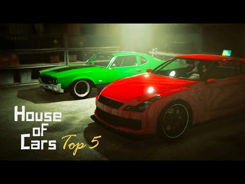 GTA V Online: House Of Cars - Top 5 - Best Car For Each Class + Best Overall Car (Part 2 Of 2)