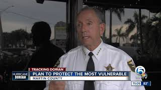 Plan to protect the most vulnerable during the storm in Martin County
