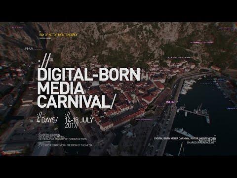 """Otvorene prijave za """"Digital-born Media Carnival"""" u Kotoru u Crnoj Gori"""