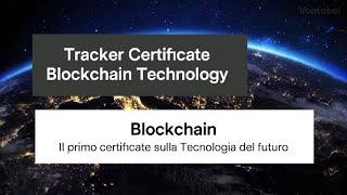 BLOCKCHAIN: Il primo Certificate sulla tecnologia del futuro