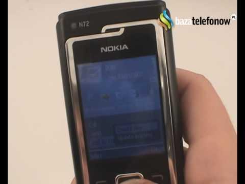 Prezentacja telefonu Nokia N72
