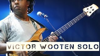 Victor Wooten Super Bass Solo