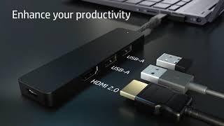 HP ENVY USB C Hub Extend Your Laptop's Ports | Official Trailer | Tech Leaf | 1080p