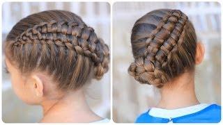 Zipper Braid Updo | Cute Girls Hairstyles