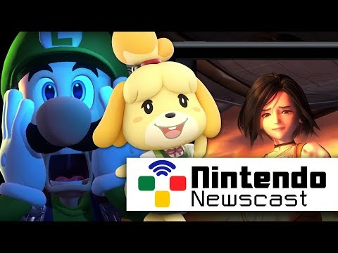 Post-Direct Insanity (Animal Crossing Switch, Luigi's Mansion 3) | Nintendo Newscast LIVE (видео)