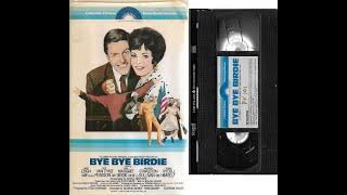 Opening and Closing to Bye Bye Birdie 1979 VHS