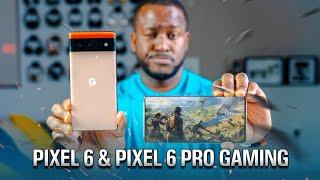 Google Pixel 6 & Google Pixel 6 Pro Gaming - is Tensor a Power House?