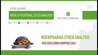 WOCKPHARMA STOCK ANALYSIS INTRADA & POSITIONAL