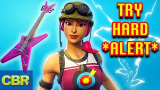 The 20 Most Tryhard Skins And Back Blings In Fortnite