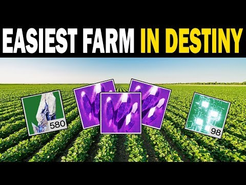 What's the Easiest Farm in Destiny 2? Now we Know!