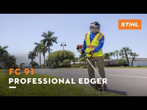 Stihl FC 91 in Ennis, Texas - Video 1