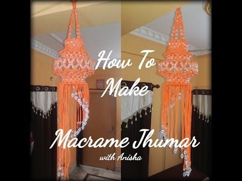 How To Make Macrame Jhumar