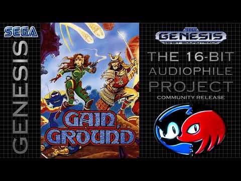 Gain Ground - Mega Drive Original Stage - Present Age