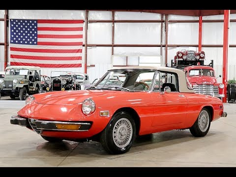 Video of '74 Alfa Romeo Spider located in Michigan - $14,900.00 - Q6DB