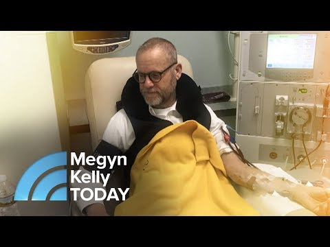 Meet Dad Whose T-Shirt Said 'In Need Of Kidney,' & The Stranger Who Donated His | Megyn Kelly TODAY