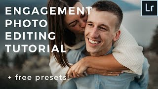 FAST Engagement Photo Editing Tutorial - Learn How To Edit A Full Shoot In Under 24 Minutes!