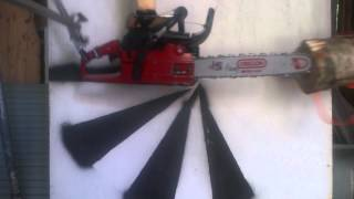Chainsaw Kickbacks Depending On Sawbar Length