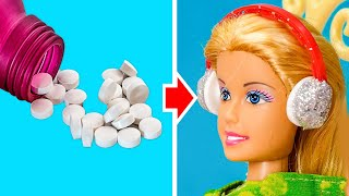 BRAND NEW DOLL HACKS YOU CAN TRY RIGHT NOW    Barbie Transformations for Everyone!
