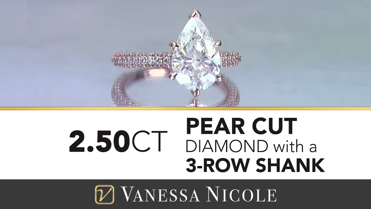 2.50ct Pear Cut Diamond Ring