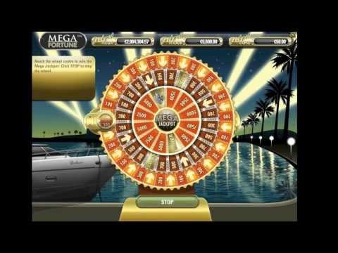 Mega Fortune mit Bonus Spiel