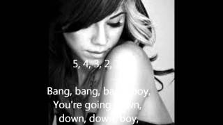 Christina Perri - Bang Bang Bang Lyric Video
