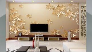 Tapete 3D Wohnzimmer