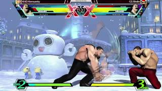 preview picture of video 'KHD Kensanity vs GS Birdie - Battle By The Bay 1 UMVC3'