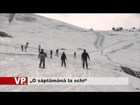 """""""O săptămână la schi"""""""