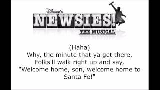 Newsies - Santa Fe (Prologue) Lyrics