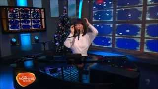 Dami Im at The Morning Show singing Super Love & Silent Night LIVE