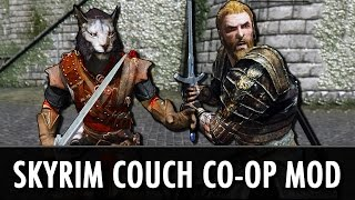 Skyrim Mod: Multiplayer Couch Co-Op 2-Player Mod