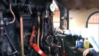 preview picture of video 'Footplate ride on 5542 July 2010'