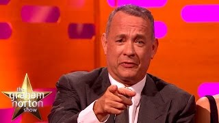 Tom Hanks Re-Enacts Iconic Forrest Gump Scene - The Graham Norton Show
