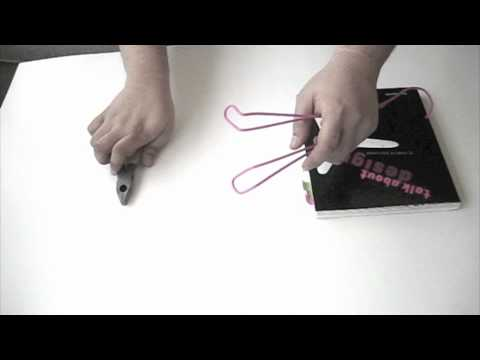 how to make a book stand with a hanger .m4v