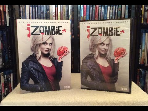 iZombie  - The Complete Second Season DVD Unboxing and Review