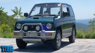 Mitsubishi's WEIRDEST Car Decision Ever: The Pajero Mini Turbo by That Dude in Blue
