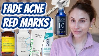 Best products to FADE POST ACNE RED MARKS (PIE)  Dr Dray