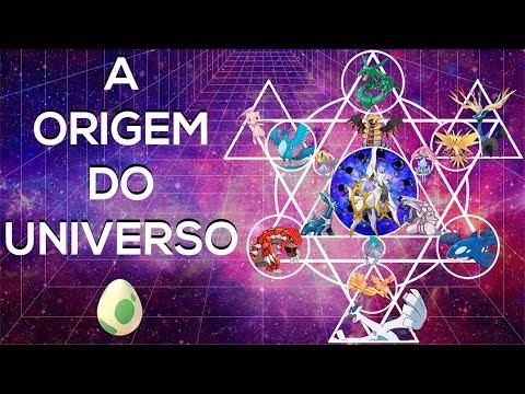 A ORIGEM DO UNIVERSO POKÉMON!!