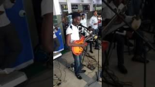 Adupe o Jesu at democracy day concert, Lagos city mall