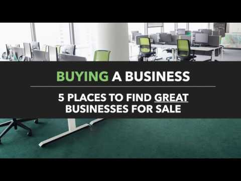 Want To Buy A Business? Here Are 5 Places To Find Businesses For Sale Online