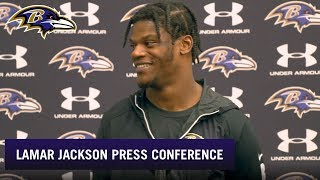 Lamar Jackson's Mom Is Happy With His Progress | Baltimore Ravens
