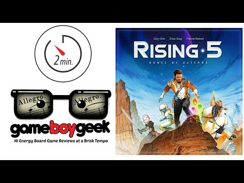 The Game Boy Geek's Allegro (2-min Review) of Rising 5