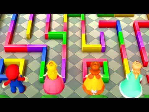 Mario Party 10 - Mario vs Peach vs Daisy vs Rosalina - Minigames