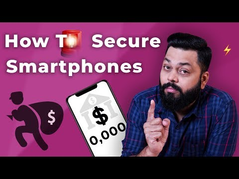 How to Secure Your Android Smartphone ⚡ 5 *MUST KNOW* Security Steps...