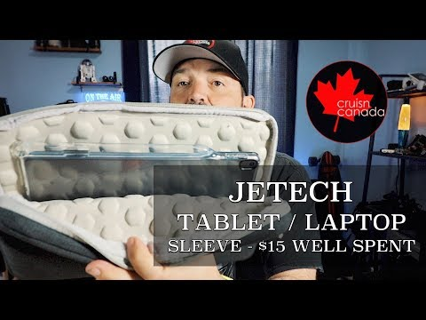 Jetech Tablet and Notebook Waterproof and Shockproof Sleeve