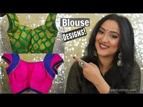 , title : 'Latest Saree Blouse designs | Indian ethnic wear | Perkymegs'