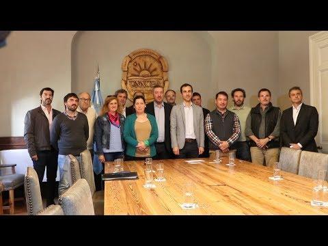 Con la presencia del Intendente Petrecca, se presentó el debate de los candidatos