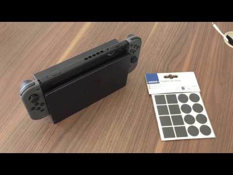 Nintendo Switch: Filzgleiter gegen Kratzer